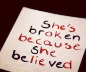 she's broken and he's ok image