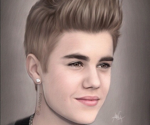 justin bieber, drawing, and justin image