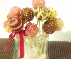 birthday, cake pops, and sprinkles image