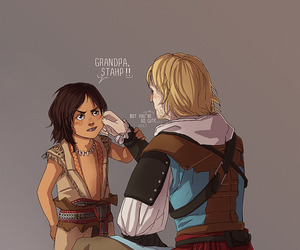 assassin's creed, connor kenway, and cute image