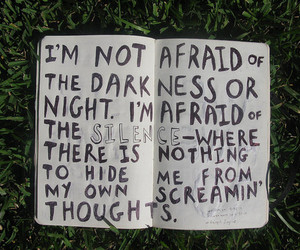 quotes, silence, and Darkness image