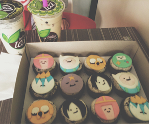cupcakes, finn, and yummy image