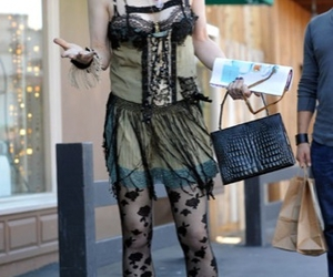 Courtney Love, rock and roll, and fashion faux paux image