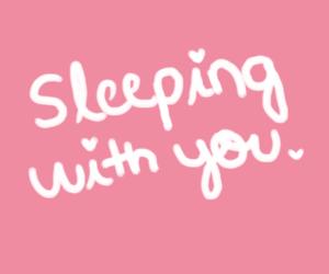 love, sleep, and heart image