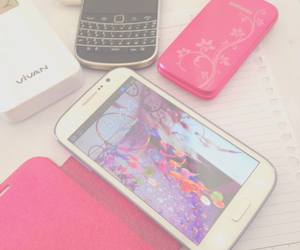 blackberry, pastel, and samsung image