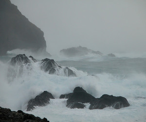 faroe islands, nature, and storm image