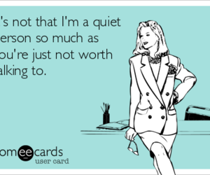 ecard, personality, and quiet image