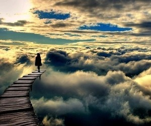 sky, clouds, and Dream image