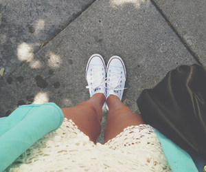 blue and summer street converse image
