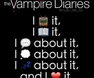 tvd, the vampire diaries, and read image