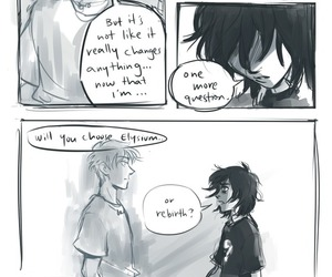 percy jackson and nico di angelo image