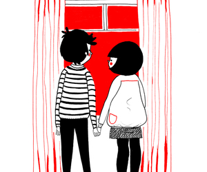 love, couple, and soppy image