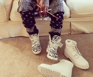 timberland, shoes, and white image
