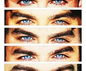 ian somerhalder, eyes, and blue eyes image