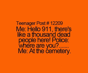 funny, 911, and police image