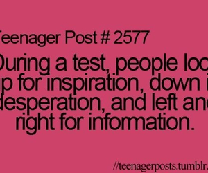 school, someone, and teenager post image