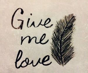 love, ed sheeran, and give me love image
