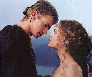 Anakin Skywalker, couple, and love image
