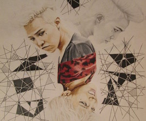 fanart, gd, and g dragon image