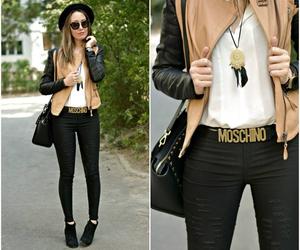 fashion, style, and Moschino image