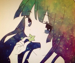 cute, star, and anime image