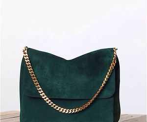 bag, fashion, and green image