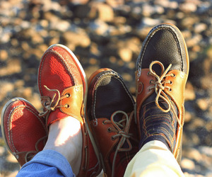 shoes, couple, and love image