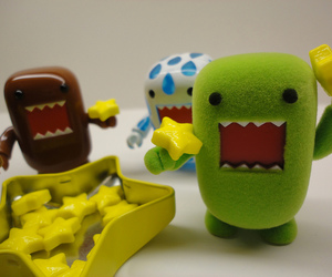candy, domo, and domokun image