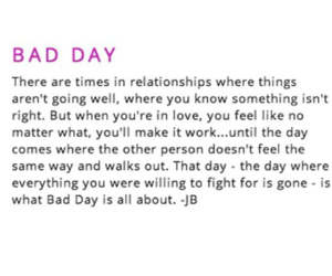 bad day, justin bieber, and new song image