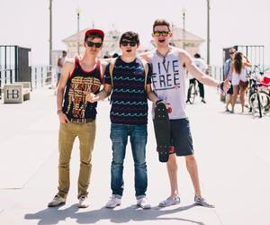 jc caylen, connor franta, and ricky dillon image