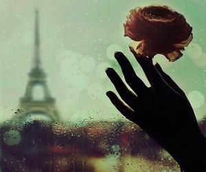 paris, love, and rain image
