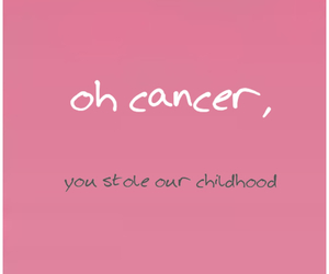 bad, cancer, and child image