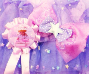 lavender, pink, and cute image