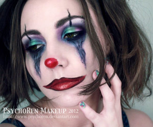 character, make up, and photography image
