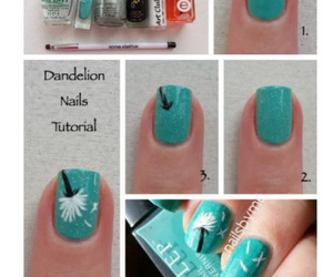 nails, cute, and tutorial image