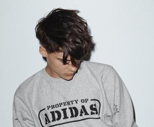boy, adidas, and Hot image