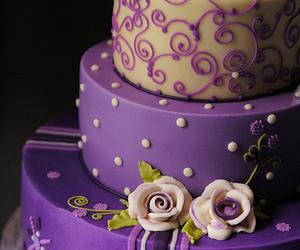 cake and purple image