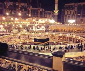 islam, muslim, and mekka image