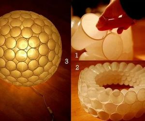 light, recycle, and plastic cup image