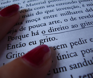 book, brasil, and red image