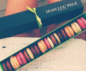 cannes, french, and macarons image