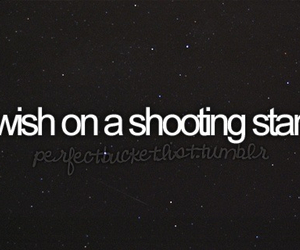 wish and shooting star image