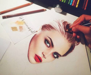 amazing, cara, and drawing image