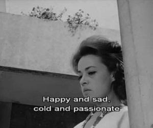 sad, cold, and happy image