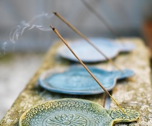 incense, meditation, and peace image
