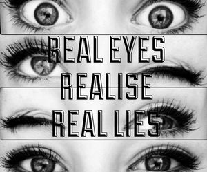 eyes and quote image