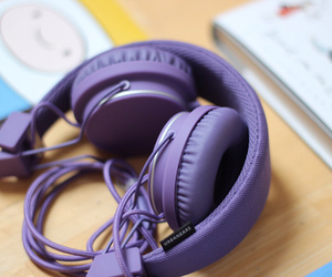 lilac, urbanears, and phones image