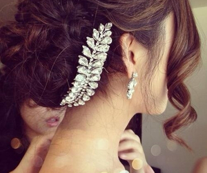 classy, hair, and wedding image