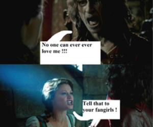 belle, once upon a time, and fangirls image