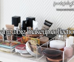 makeup, just girly things, and justgirlythings image